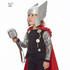thor costume for men and boys simplicity
