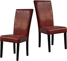 red dining chairs u2013 package of two red dining chairs dining