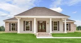 Southern Farmhouse Home Plan Impressive Louisiana Home Builder New Orleans Baton Rouge Hammond