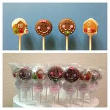 hello kitty cake pops with assorted mini bows cake pops