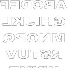 printable letters cut out 8 best images of free printable letter stencils cut out free