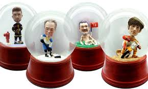 custom snow globes groupon