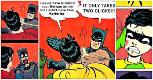 Batman And Robin Memes - 15 epic batman slapping robin memes best of comic books