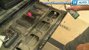 02 ford ranger parts how to install replace tailgate handle ford ranger 98 10 1aauto