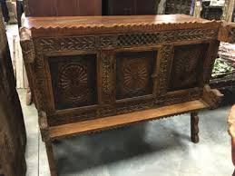 indian wooden furnitures antique sideboard buffet