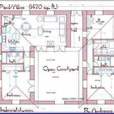 House Plans With Inlaw Apartment Modern Ranch Home With Courtyard Best Home Design And U Shaped