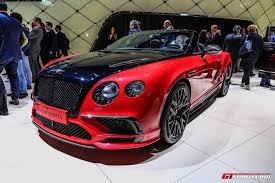 bentley red geneva 2017 bentley continental supersports coupe u0026 convertible