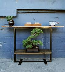 Minimal Table Design Reclaimed Barn Wood Console Table Home Furniture Surfridge