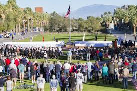 University Of Arizona Map by Photos Dedication Of The Uss Arizona Mall Memorial On The Ua Mall