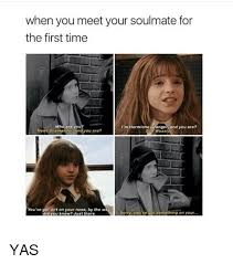 Hermione Granger Memes - when you meet your soulmate for the first time i m hermione granger