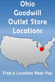 Dayton Ohio Map Ohio Goodwill Outlet Store Location