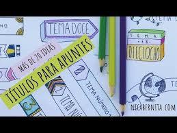 como forrar un cuaderno con tela youtube márgenes y títulos para cuadernos ideas para decorar tus apuntes