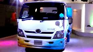 hino dutro x hybrid cargo loader in japan youtube