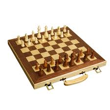 Wooden Chess Set by Shop Wooden Chess At Lowes Com