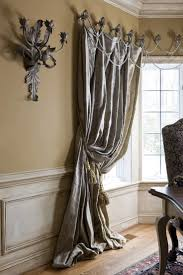 How To Make Drapery Panels Simple Curtain Design Embellishing Curtains Nosew Striped Shower