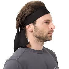hairband men 2 pcs headband men headbands hair outside sport and