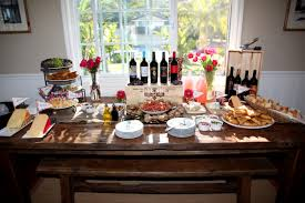 wine themed bridal shower 32 52 1 part wine 1 part fish cheese wine and cheese table