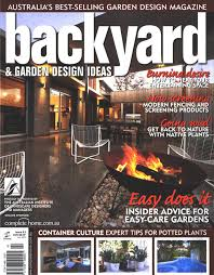 Editorial Backyard  Garden Design Ideas Ian Barkers Blog - Backyard and garden design ideas magazine