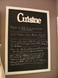 ardoise cuisine ravishing cadre ardoise cuisine id es ext rieur with fabriquer