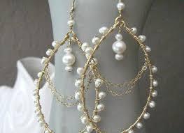 Chandelier Pearl Earrings For Wedding Chandelier Pearl Earrings U2013 Edrex Co