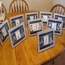 table numbers with pictures five creative ideas for your table numbers bridalguide