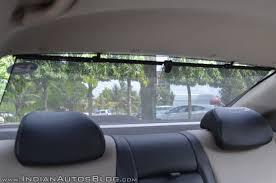 hyundai verna 2017 test drive review rear blinds indian autos blog