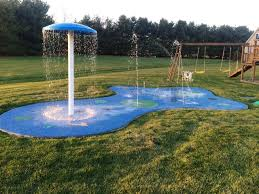 Backyard Activities For Kids Residential Splash Pad For Your Backyard