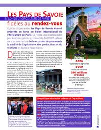 chambre agriculture 74 74 haute savoie mag n 133 mar avr 2011 page 6 7 74 haute