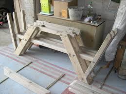 Plan De Table En Bois by Construction D U0027une Table Pique Nique Asv850