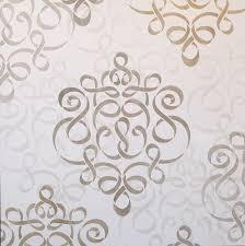 damask ribbon ribbon damask wall stencil damask wall stencils damask wall and