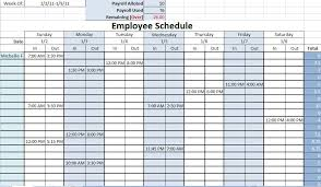 Employee Schedule Excel Template Vacation Schedule Template This Is A Complete Vacation Trip