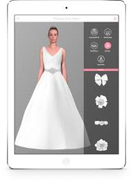 design a wedding dress wedding reality create your own wedding dress and try it on your