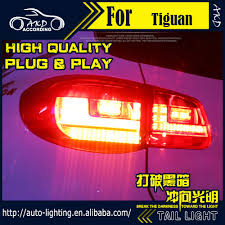 tiguan volkswagen lights car styling led tail lamp for vw tiguan tail lights 2010 tiguan