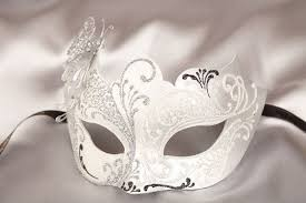white masquerade masks for women more picture of masks