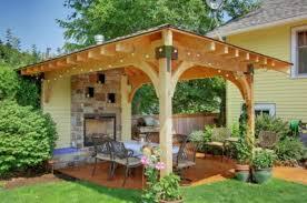 chair furniture 4610outdoorfireplace backyard patio ideas awesome