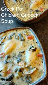 crock pot chicken gnocchi soup olive garden copycat
