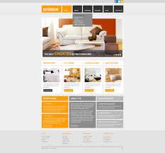 interior design responsive website template 42122