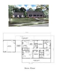 single story house plans with wrap around porch ideas home