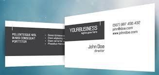 crispy business card template photoshop psd kartu nama unik