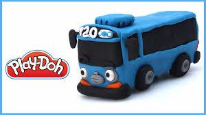 tayo cizgi film video sevimli otobüs tayo play doh oyun hamurundan tayo nasıl yapılır
