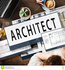 architect architecture housing floor plan concept stock photo