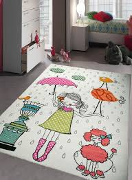 tapis chambre b b fille pas cher tapis chambre enfant mademoiselle creme de la collection pour