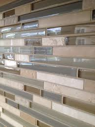 Glass Tiles Kitchen Backsplash by Travertine And Glass Tile Backsplash New Glass Travertine Tile
