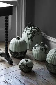 macabre home decor veiled pumpkins halloween craft ideas