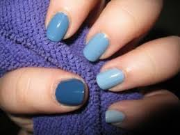 ombre nails different shades of one color youtube