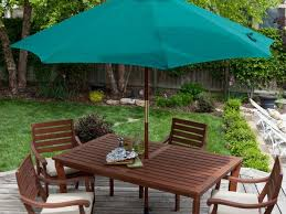 Courtyard Creations Patio Set Patio 58 Yellow Patio Umbrellas Walmart With Four Chair And