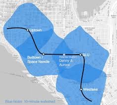 Map Queen Anne Seattle by A Loopy Idea For St3 Circling Lake Union Doubling Down In West
