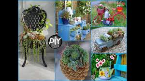how to turn old things into planters and flower pots diy plant