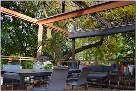 Backyard Shade Ideas Retractable Backyard Shade Patios Home Decorating Ideas