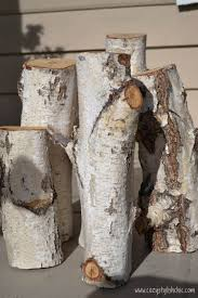 How To Build A Stump by Diy How To Make A Set Of Tree Stump Candle Holders For The Holidays